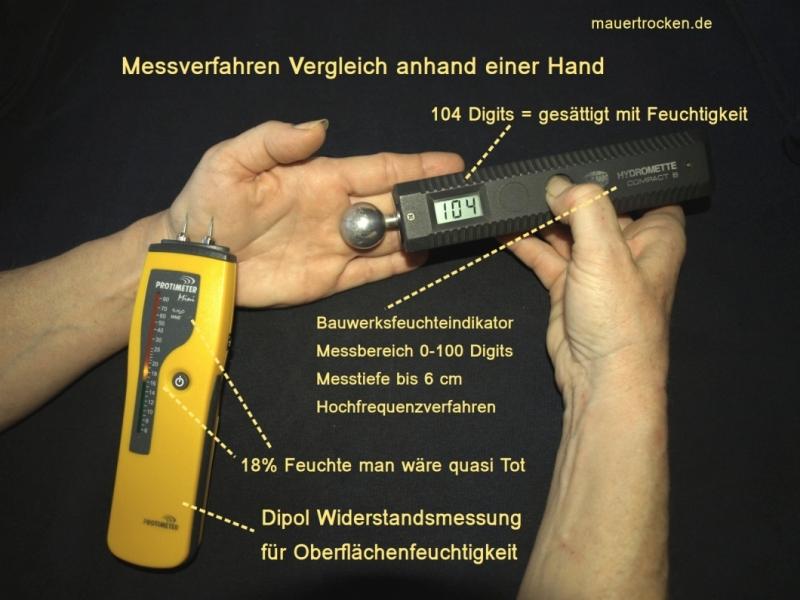 Fabulous Wandfeuchtigkeit messen - wer-weiss-was.de GT48